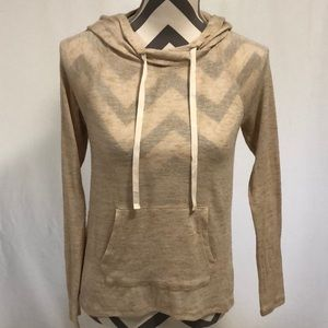 Kirra Lightweight Hooded Pullover Sweater Size S
